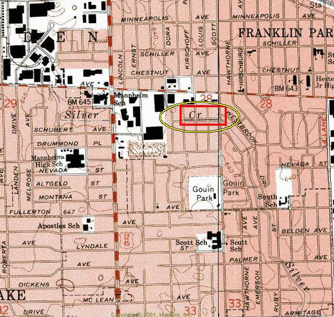 Franklin Park Illinois Map.N Values Report For Silver Creek At Scott Ave At Franklin Park Il