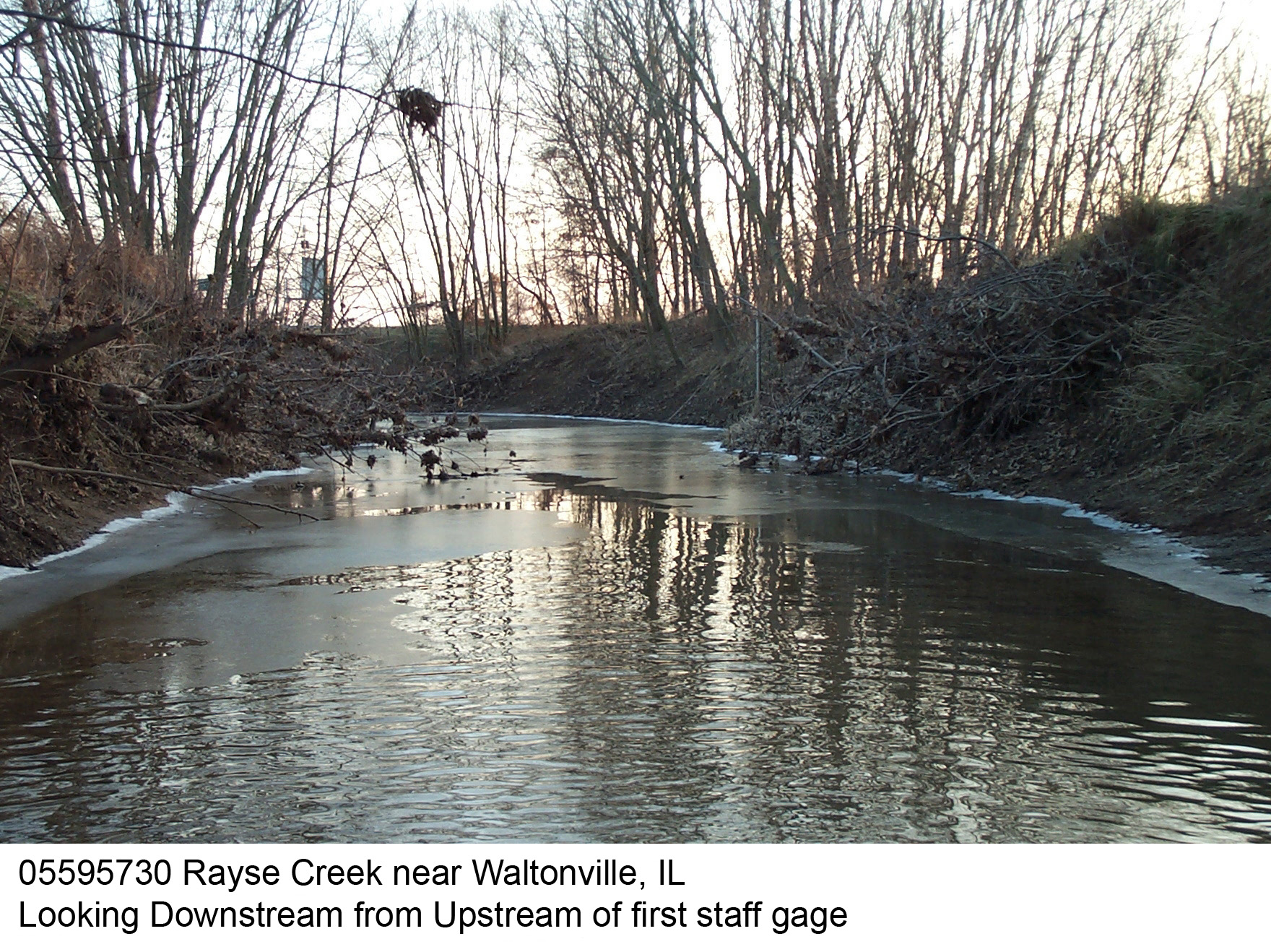 Illinois jefferson county waltonville - Description Of Channel This Channel Is A Straightened Reach Of A Natural Channel The Streambed Consists Of Silt Clay And Gravel Mixtures